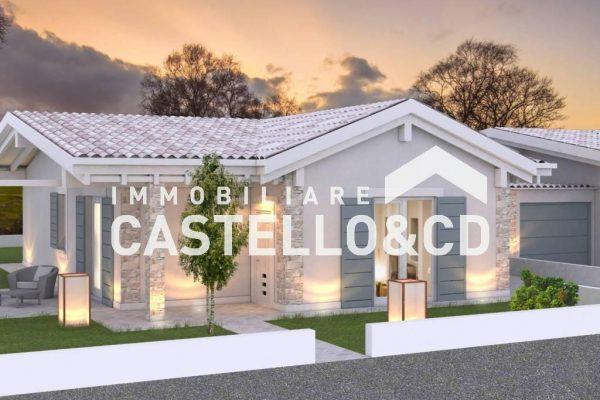 Zwei Familien Villa in Rivoltella