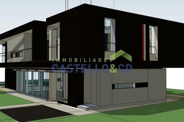 Moderne Villa im Dorfzentrum